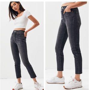Levi's skinny wedgie jeans in raven Sz 29 (o223)